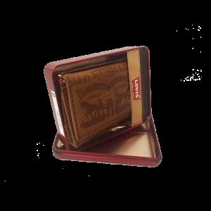 Vi da hang hieu Levis wallet 2 Oneshop247